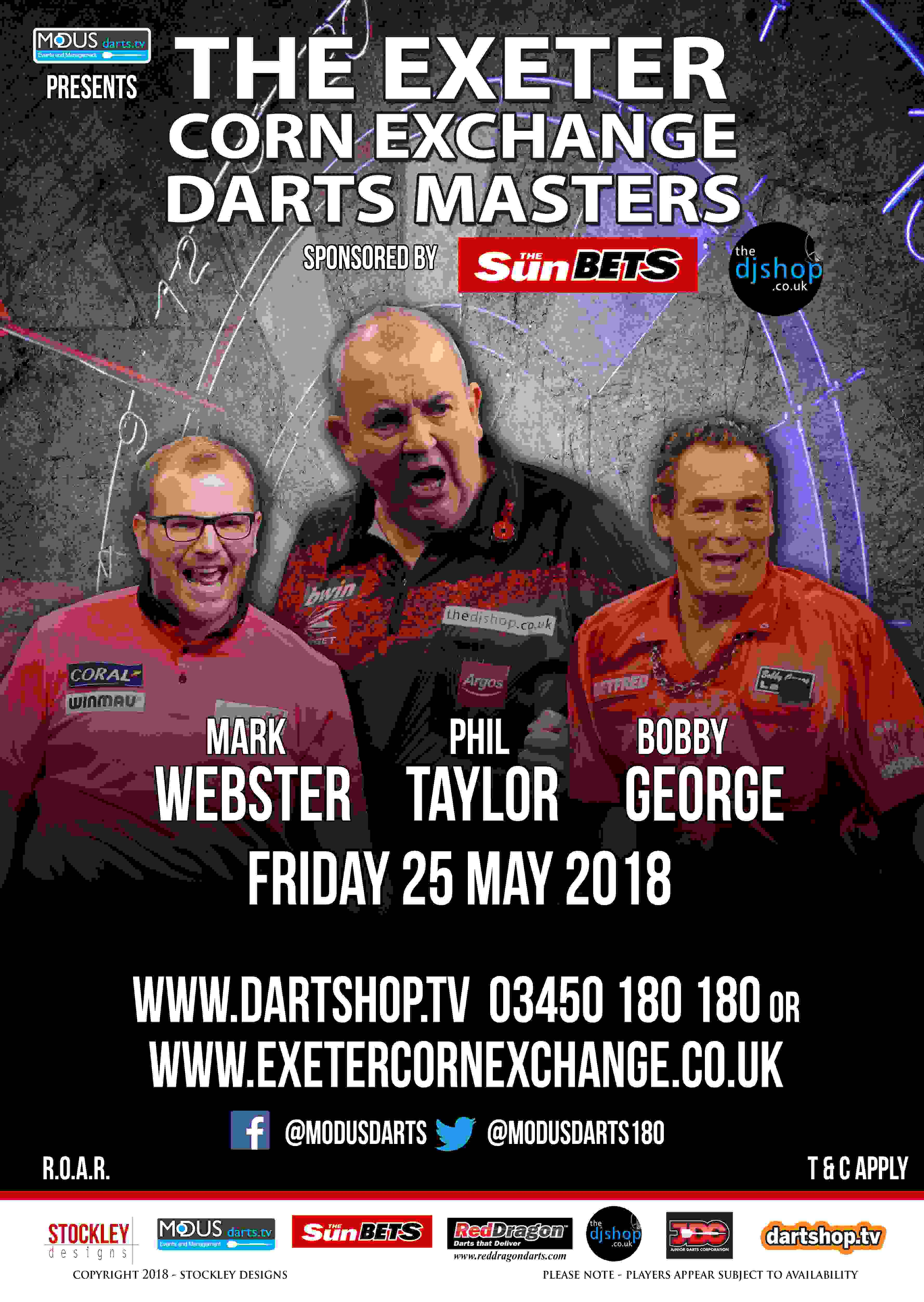 The Exeter Corn Exchange Darts Masters